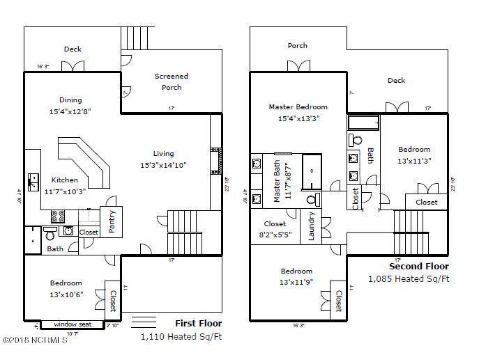 Floor Plan for Maria Pacifica